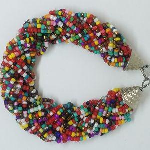 Hobo bead bracelet